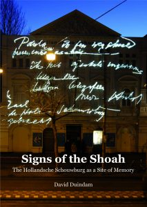 David Duindam - Signs of the Shoah cover